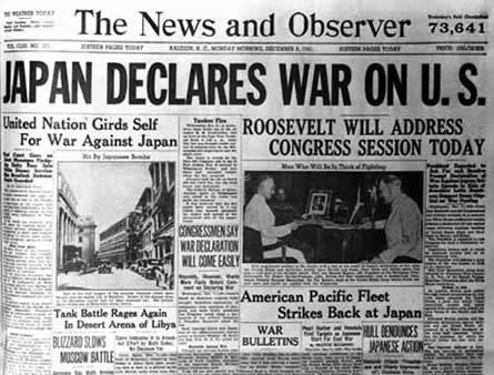 Pearl Harbor Attack pearl harbor headline pearl harbor research paper ...