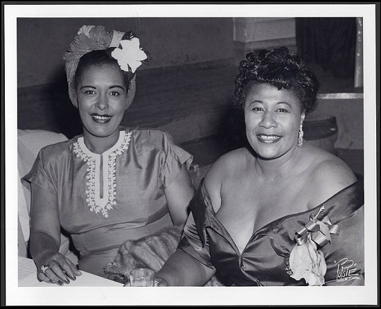 Billie Holiday with Ella; jazzarium.pl