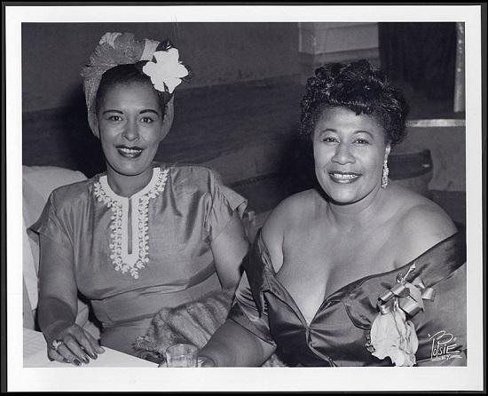 Billie Holiday with Ella; jazzarium.pl