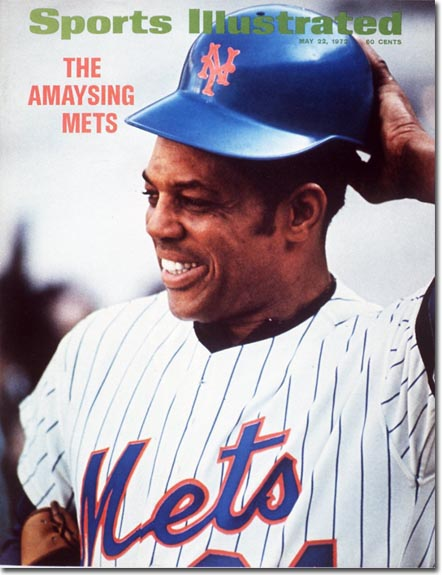 Willie Mays-NY Mets May 22, 1972 X 16813 credit: Neil Leifer - contract