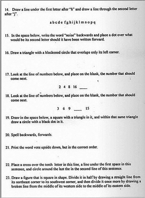 LITERACY TEST 2 - SML