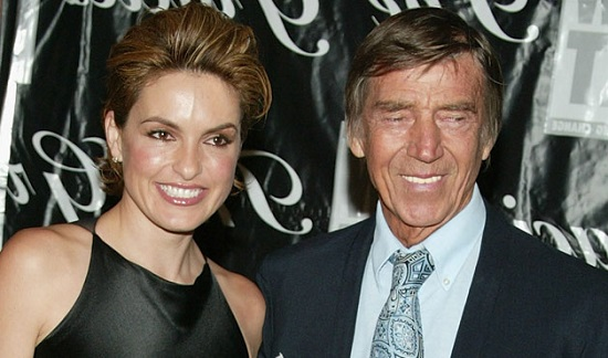MARISKA AND HER DAD, MICKEY HARGITAY