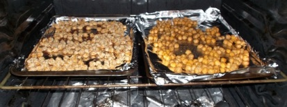 ROASTED CHICK PEAS - IN THE OVEN (2)