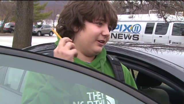 Teen claims he was suspended from NJ school for twirling a pencil