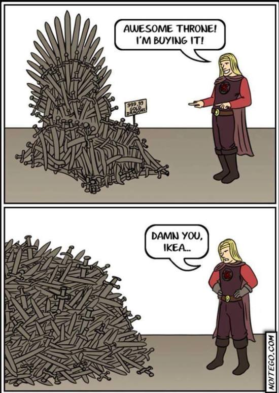 IKEA THRONE