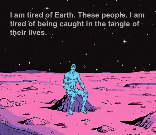 TIRED OF EARTH